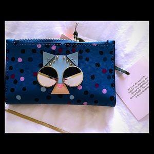 Kate Spade ♠️ cat wallet